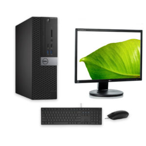Dell-Optiplex-3040-SFF-i58GB128GB-SSDW10P-Monitor-22KeyboardMouse-Praxi